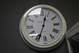 A FOXDALE & SONS HANGING WALLCLOCK