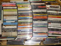 EIGHT BOXES OF CDS