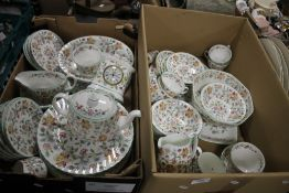 TWO TRAYS OF MINTON TEA & DINNERWARE (TRAYS NOT INCLUDED)¦Condition Report:No obvious damage or