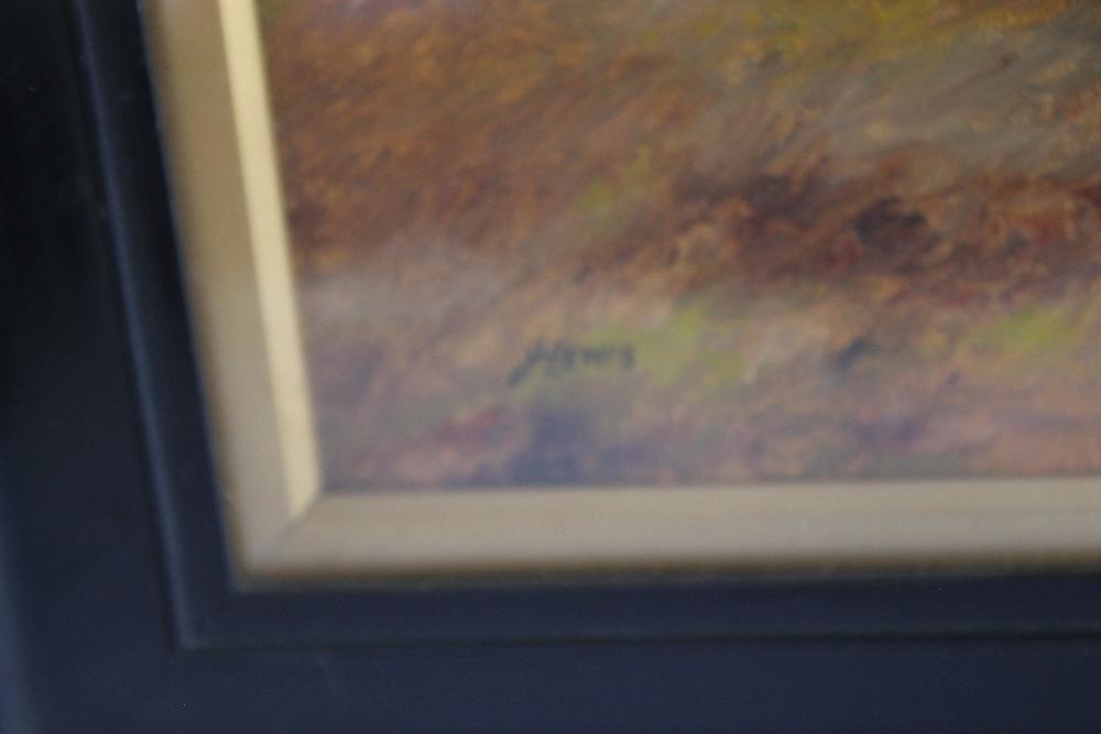 J. LEWIS STILL LIFE OIL PAINTING OF FRUIT, signed lower left, 39 x 50 cm including frame - Image 3 of 3