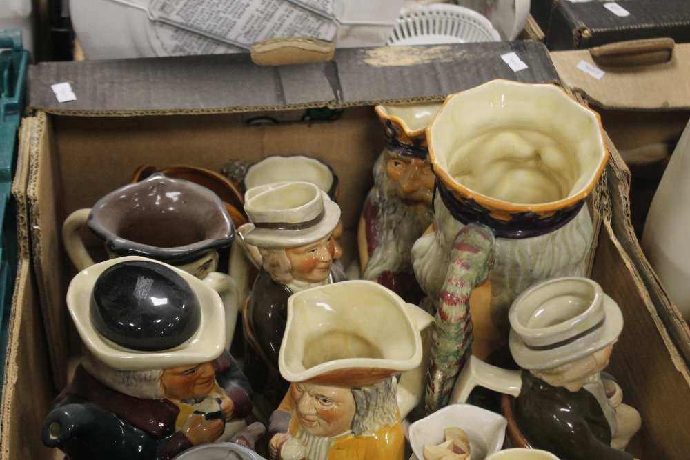A TRAY OF TOBY JUGS (tray not included) - Image 3 of 3