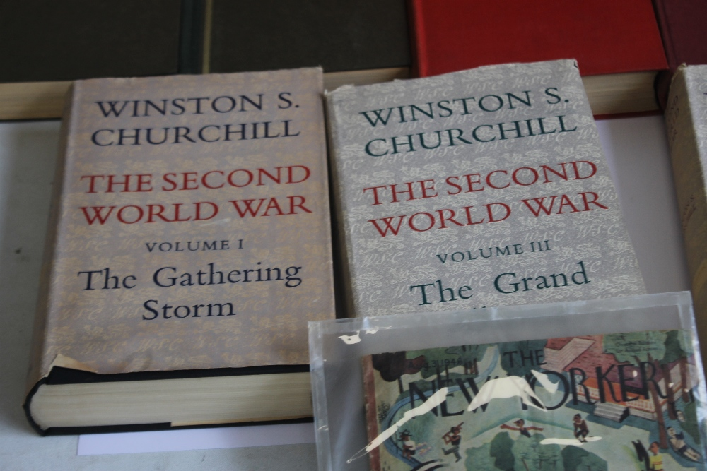 A COLLECTION OF MILITARY INTEREST BOOKS to include Winston S. Churchill - 'The Second World War' - Image 4 of 5