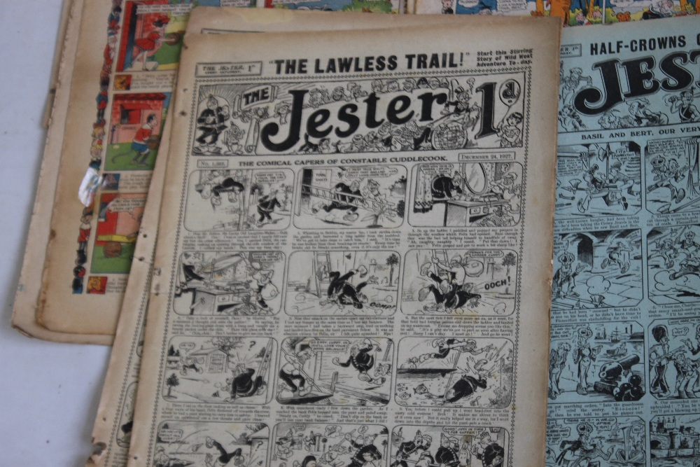 EARLY 20TH CENTURY COMICS to include 'Comic Life' #616 1910, 'Merry and Bright' #135 1913 and #402 - Image 6 of 6