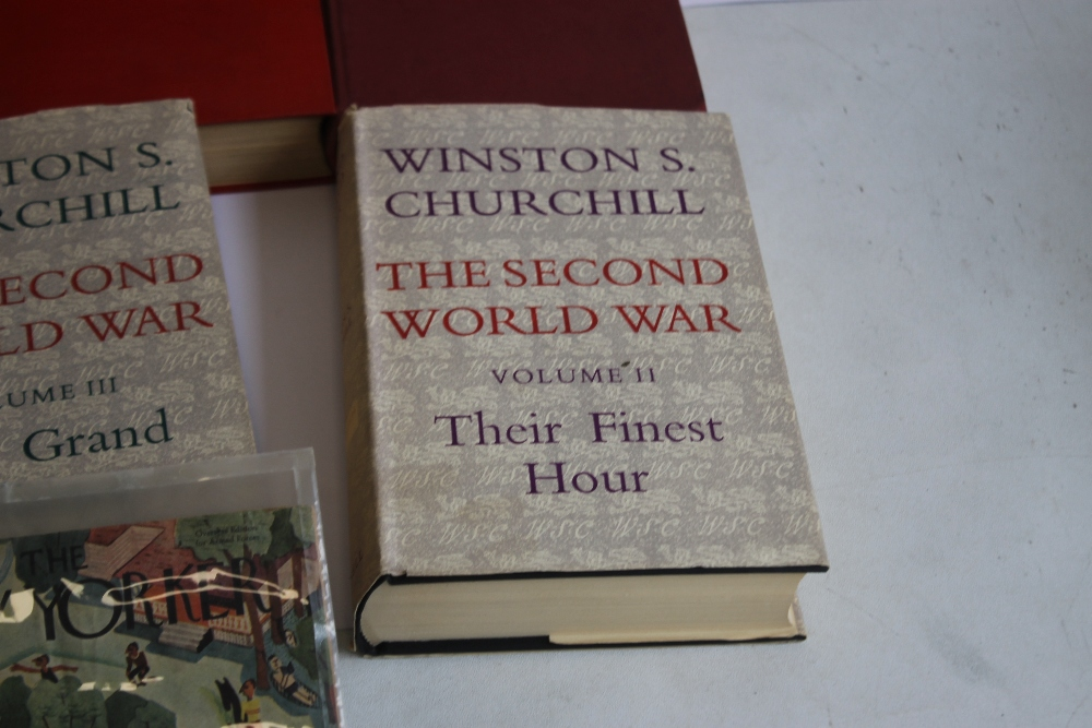 A COLLECTION OF MILITARY INTEREST BOOKS to include Winston S. Churchill - 'The Second World War' - Image 5 of 5