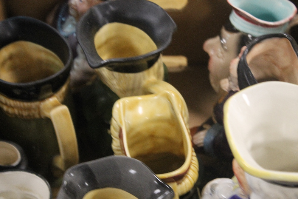 A TRAY OF TOBY JUGS (tray not included) - Image 2 of 3