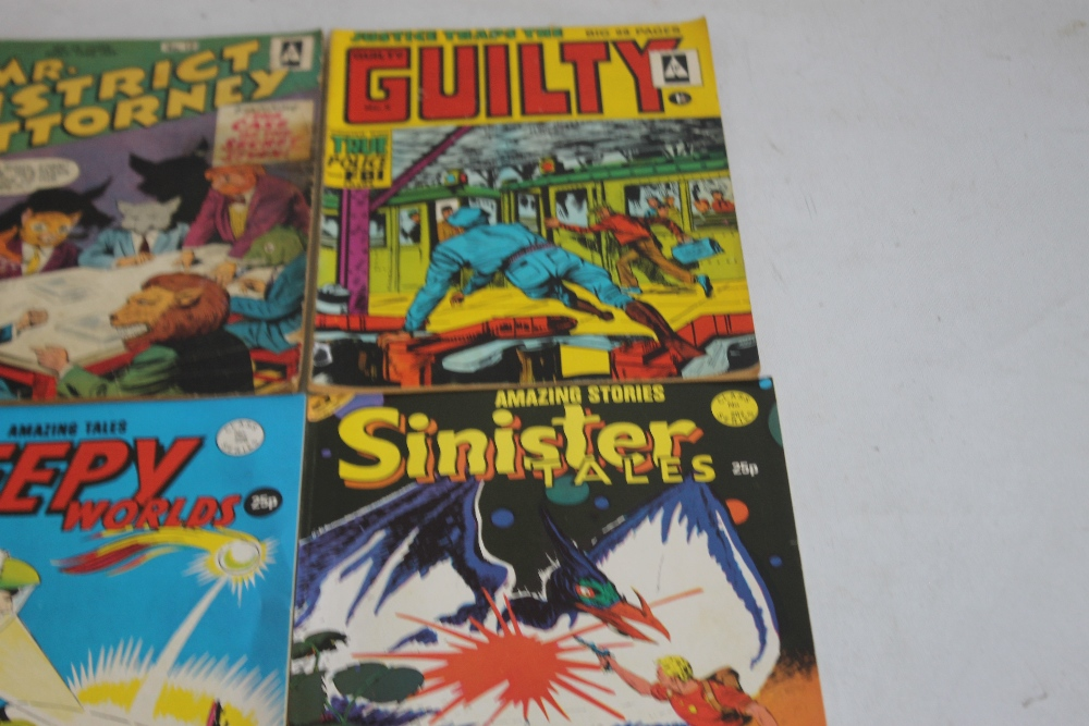 MR DISTRICT ATTORNEY' COMIC BOOK, #10 and #12 British Edition together with 'Justice Traps The - Image 3 of 3