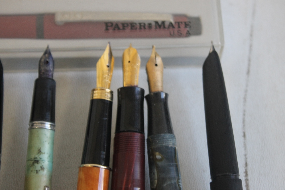 A SELECTION OF PENS, to include Osmiroid, Parker, Papermate etc - Image 2 of 8
