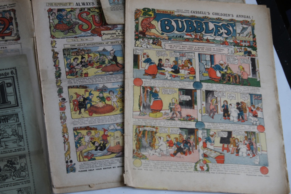 EARLY 20TH CENTURY COMICS to include 'Comic Life' #616 1910, 'Merry and Bright' #135 1913 and #402 - Image 4 of 6