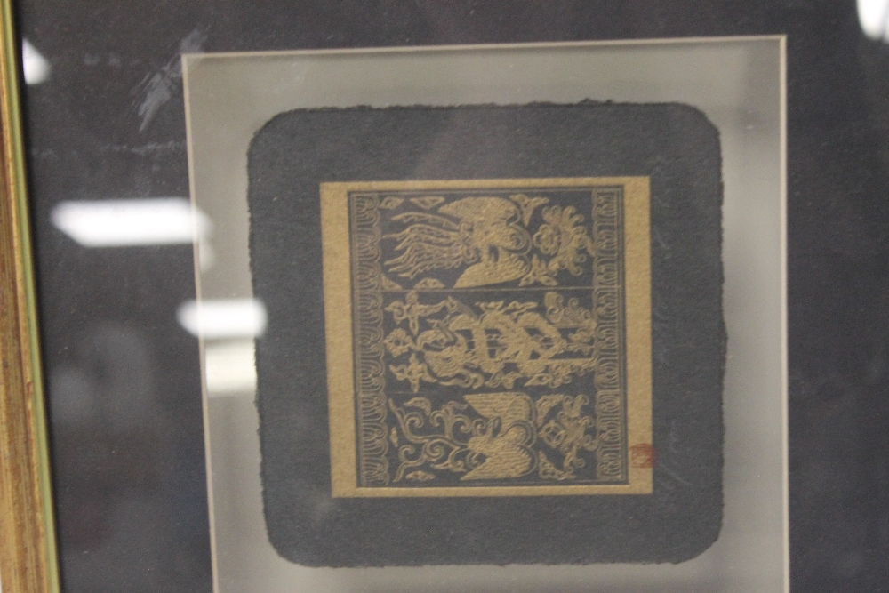 A PAIR OF JAPANESE PICTURES - Image 5 of 6