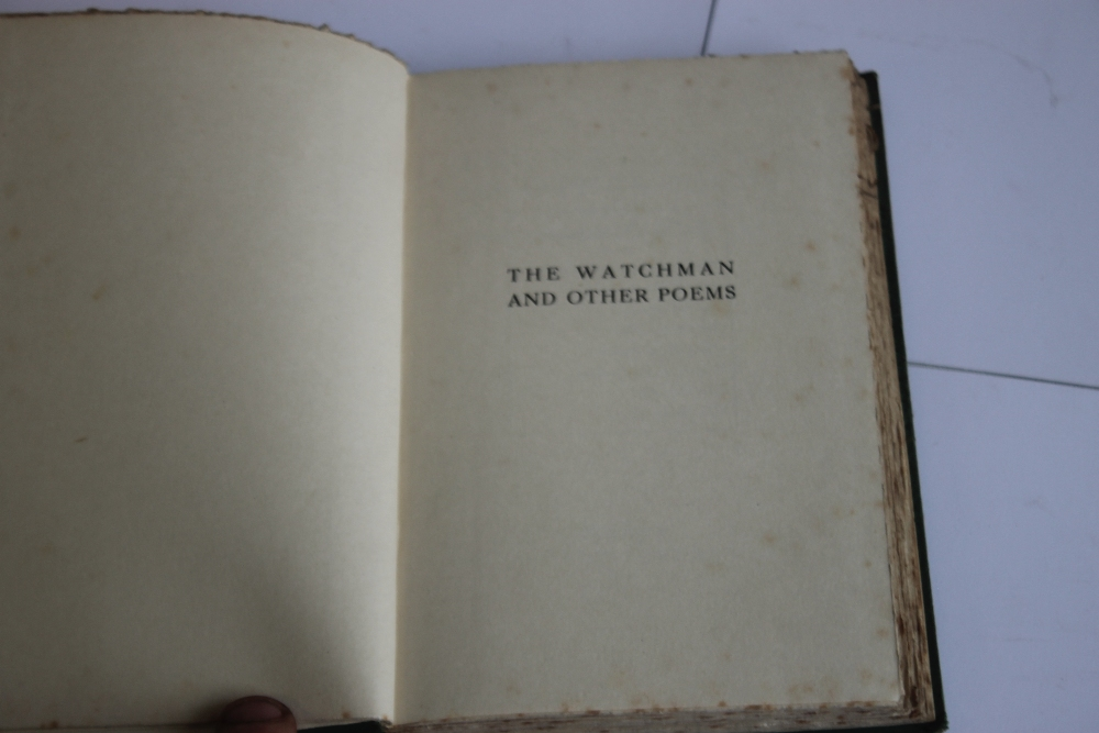L. M. MONTGOMERY - 'THE WATCHMAN AND OTHER POEMS', London Constable & Company Ltd. 1920, possibly - Image 2 of 4