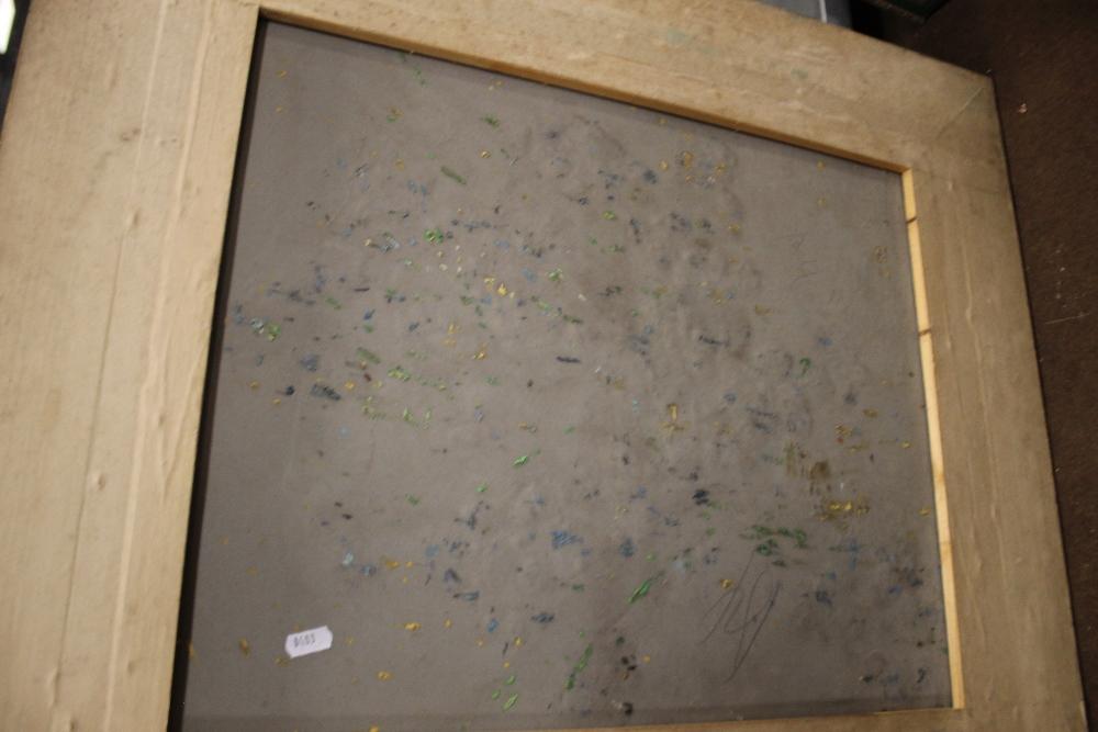 A GILT FRAMED OIL ON CANVAS STILL LIFE, 70 x 80 cm - Image 2 of 3