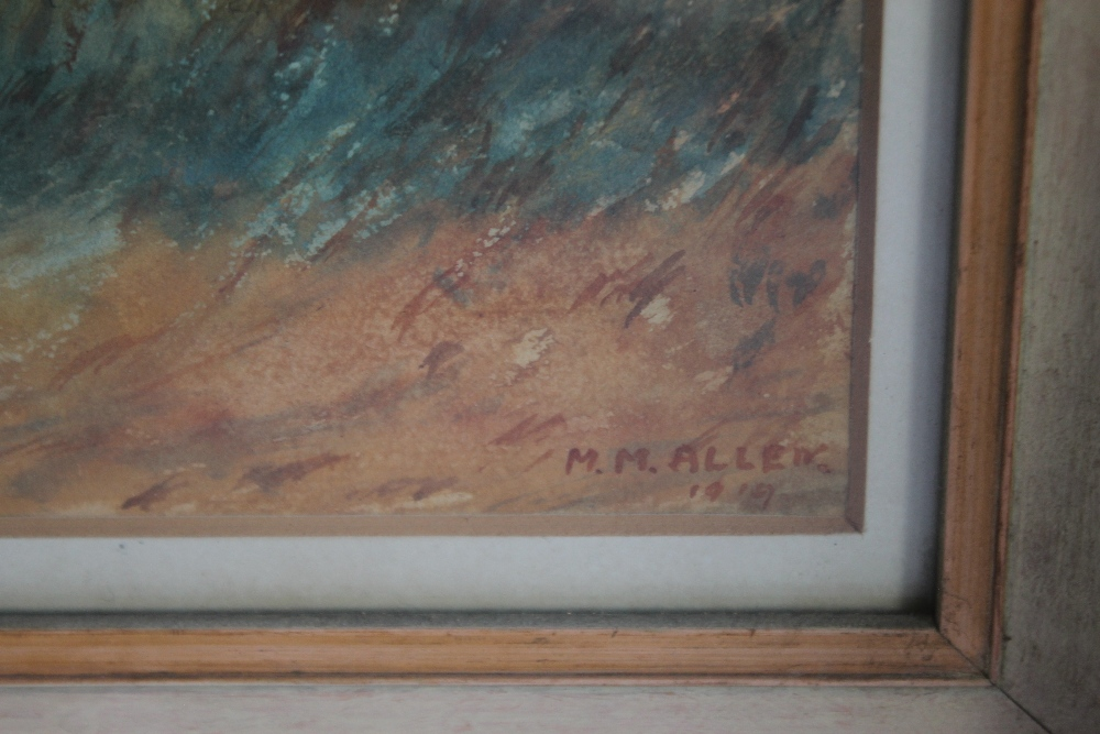 A PAIR OF FRAMED AND GLAZED WATERCOLOURS depicting farmyard scenes - Image 2 of 6