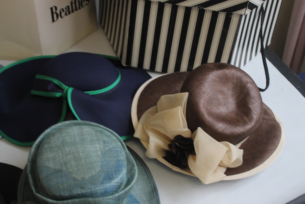 A COLLECTION OF LADIES WEDDING HATS ETC. to include Edward Mann, Jacques Vert, Peter Bettley, Lucy - Image 6 of 6