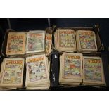 WIZARD' COMIC 1944 - 1974, approx. 970 issues in total, not a full run, some duplicates, various