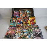 A QUANTITY OF MARVEL, DC AND QC COMIC BOOKS 1970S, 80S AND 90S, to include Collector's Editions '
