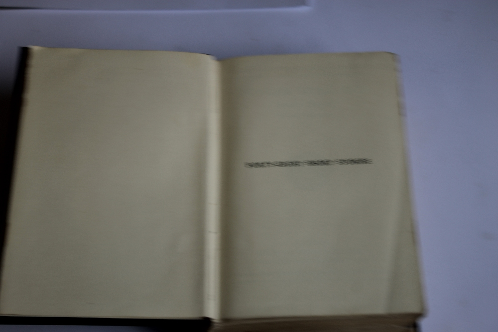 A TRAY OF VINTAGE HARDBACK NOVELS to include Edgar Wallace - 'Forty-eight Short Stories' published - Image 6 of 7