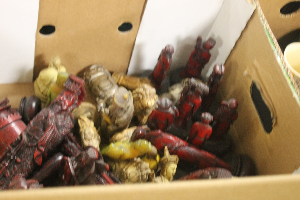 A QUANTITY OF RESIN FIGURES - Image 3 of 5