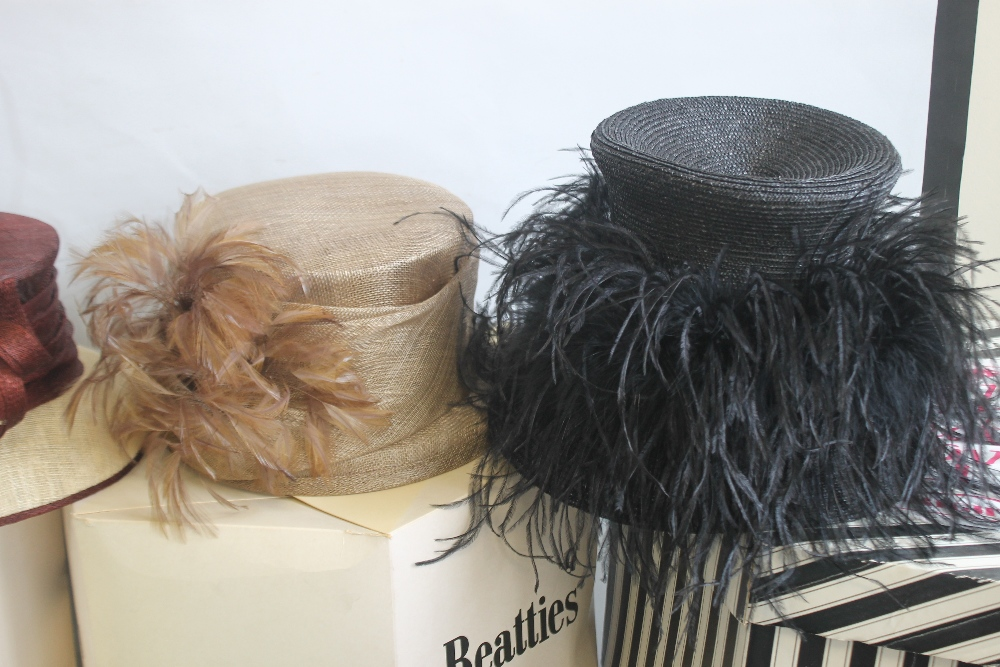 A COLLECTION OF LADIES WEDDING HATS ETC. to include Edward Mann, Jacques Vert, Peter Bettley, Lucy - Image 2 of 6