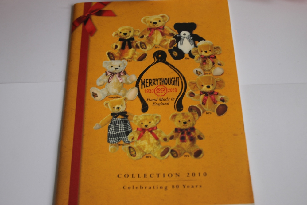 MERRYTHOUGHT TEDDY BEARS to include Cheeky Little jester, Punkie Plum, Bobo, Celine, and 2012 - Image 2 of 2