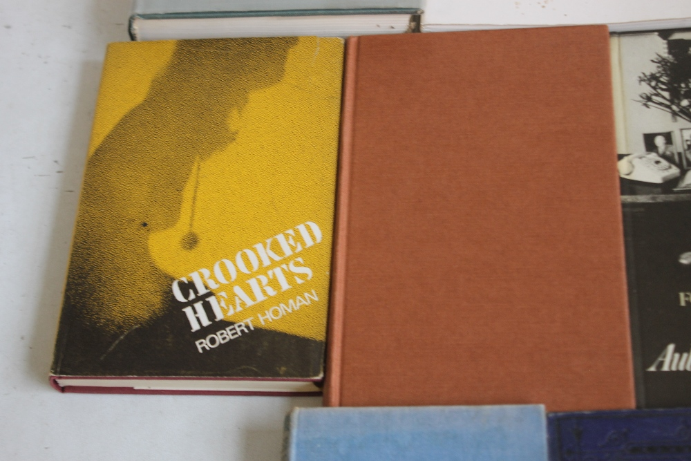COLLECTABLE BOOKS to include some first editions, Robert Homan - 'Crooked Hearts', Heinemann 1964 - Image 4 of 6
