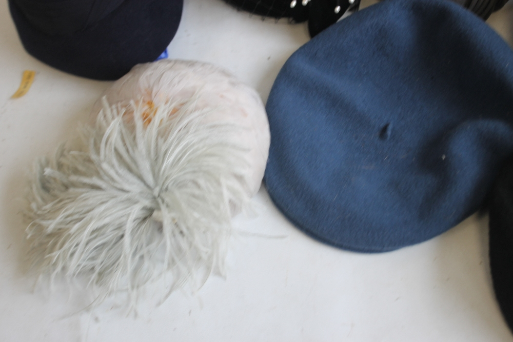 A SMALL QUANTITY OF PILLBOX STYLE HATS to include 'Headways by Albert', 'Marten' etc. and a Maugreen - Image 6 of 6