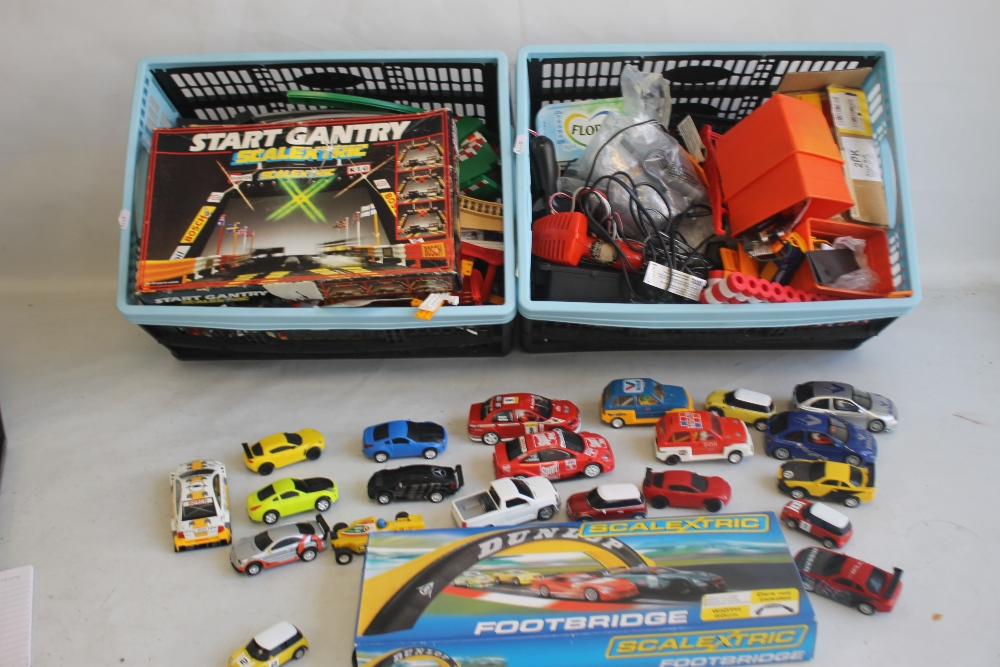 A COLLECTION OF TWENTY ONE SCALEXTRIC SLOT CARS BY HORNBY, SCALEXTRIC ETC., boxed Scalextric