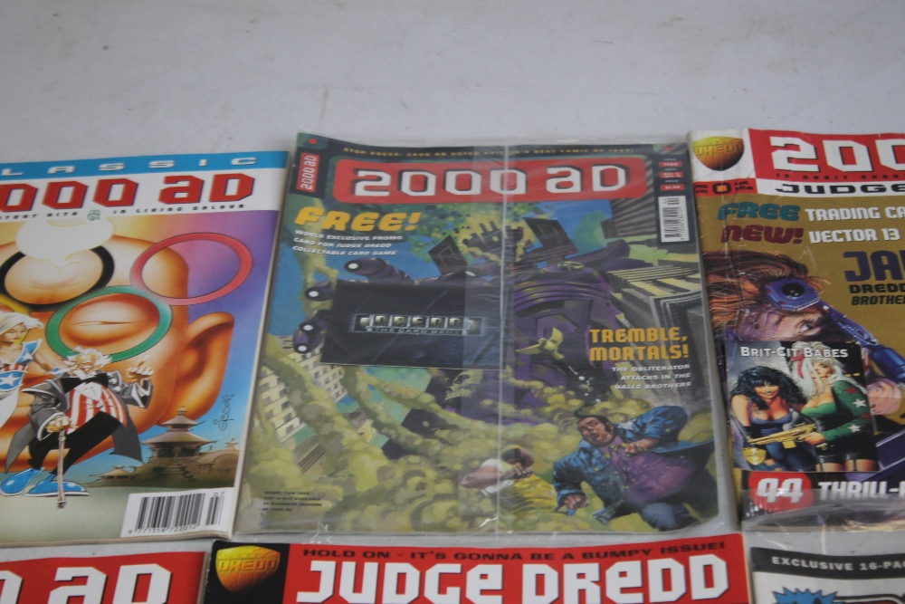 A LARGE QUANTITY OF 2000AD COMICS, mainly 1980s and 1990s, some in sealed packets and a few with - Image 3 of 10