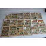 THE BEANO' AND 'THE DANDY' COMICS ETC. to include 'The Dandy' #39, 1938, #240 1943, #333 1946, #1518