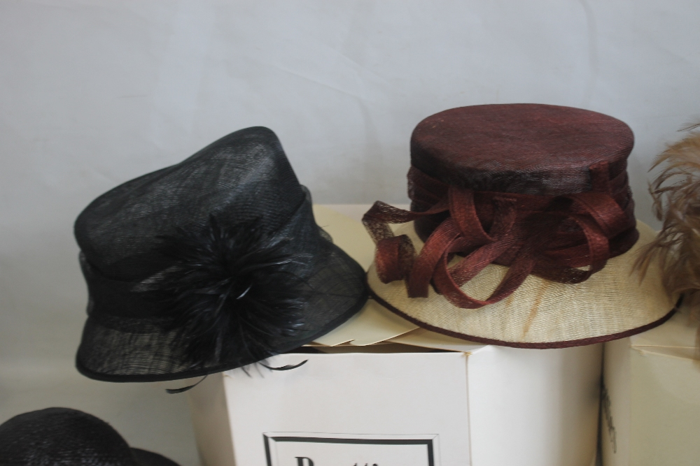 A COLLECTION OF LADIES WEDDING HATS ETC. to include Edward Mann, Jacques Vert, Peter Bettley, Lucy - Image 3 of 6