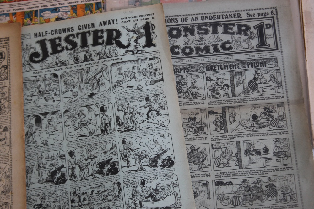 EARLY 20TH CENTURY COMICS to include 'Comic Life' #616 1910, 'Merry and Bright' #135 1913 and #402 - Image 5 of 6