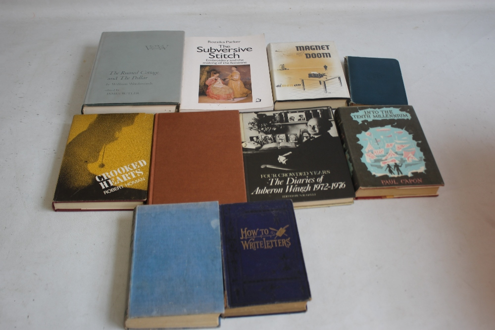 COLLECTABLE BOOKS to include some first editions, Robert Homan - 'Crooked Hearts', Heinemann 1964