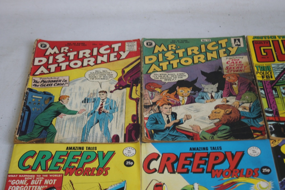 MR DISTRICT ATTORNEY' COMIC BOOK, #10 and #12 British Edition together with 'Justice Traps The - Image 2 of 3