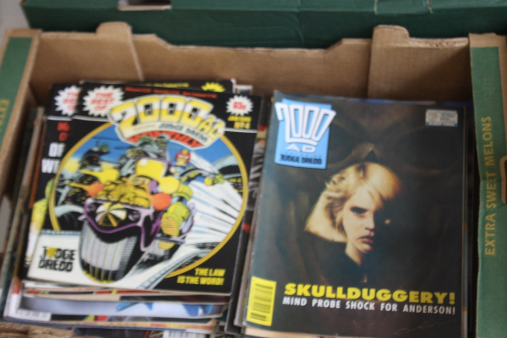 A LARGE QUANTITY OF 2000AD COMICS, mainly 1980s and 1990s, some in sealed packets and a few with - Image 2 of 10
