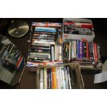 FOUR BOXES OF BOOKS ON FILM MAKING to include technical books, film makers etc. (84)