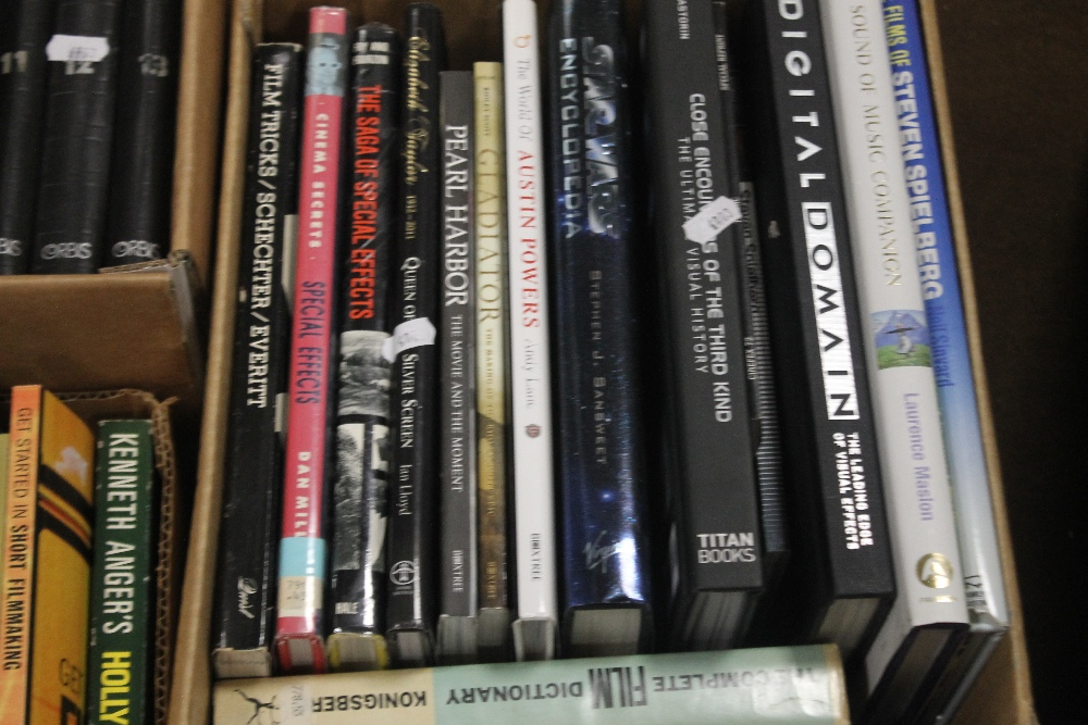 THREE BOXES OF FILM INTEREST BOOKS to include 'Close Encounters of The Third Kind' published by - Image 4 of 4
