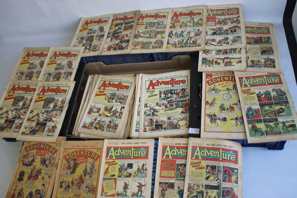 ADVENTURE' COMIC 1942 - 1960, 176 issues in total, not a full run, some duplicates, various - Image 2 of 2