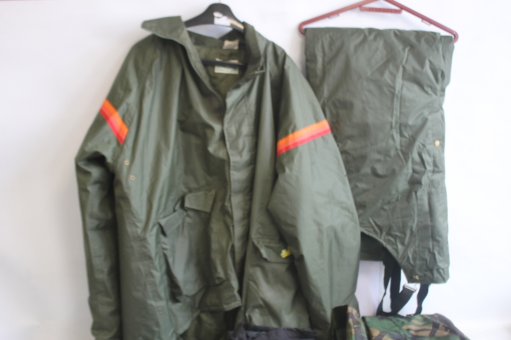 A COLLECTION OF ASSORTED FISHING CLOTHING, to include a Cormoran jacket and braces size XXXL, a - Image 2 of 5