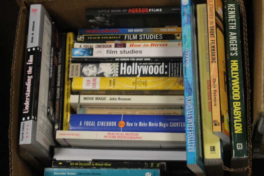 THREE BOXES OF FILM INTEREST BOOKS to include 'Close Encounters of The Third Kind' published by - Image 3 of 4