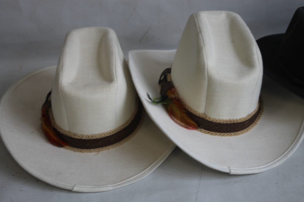 A COLLECTION OF HATS to include an Attaboy trilby, ladies' deerstalkers by Olney, Stormafit, Glen - Image 7 of 8