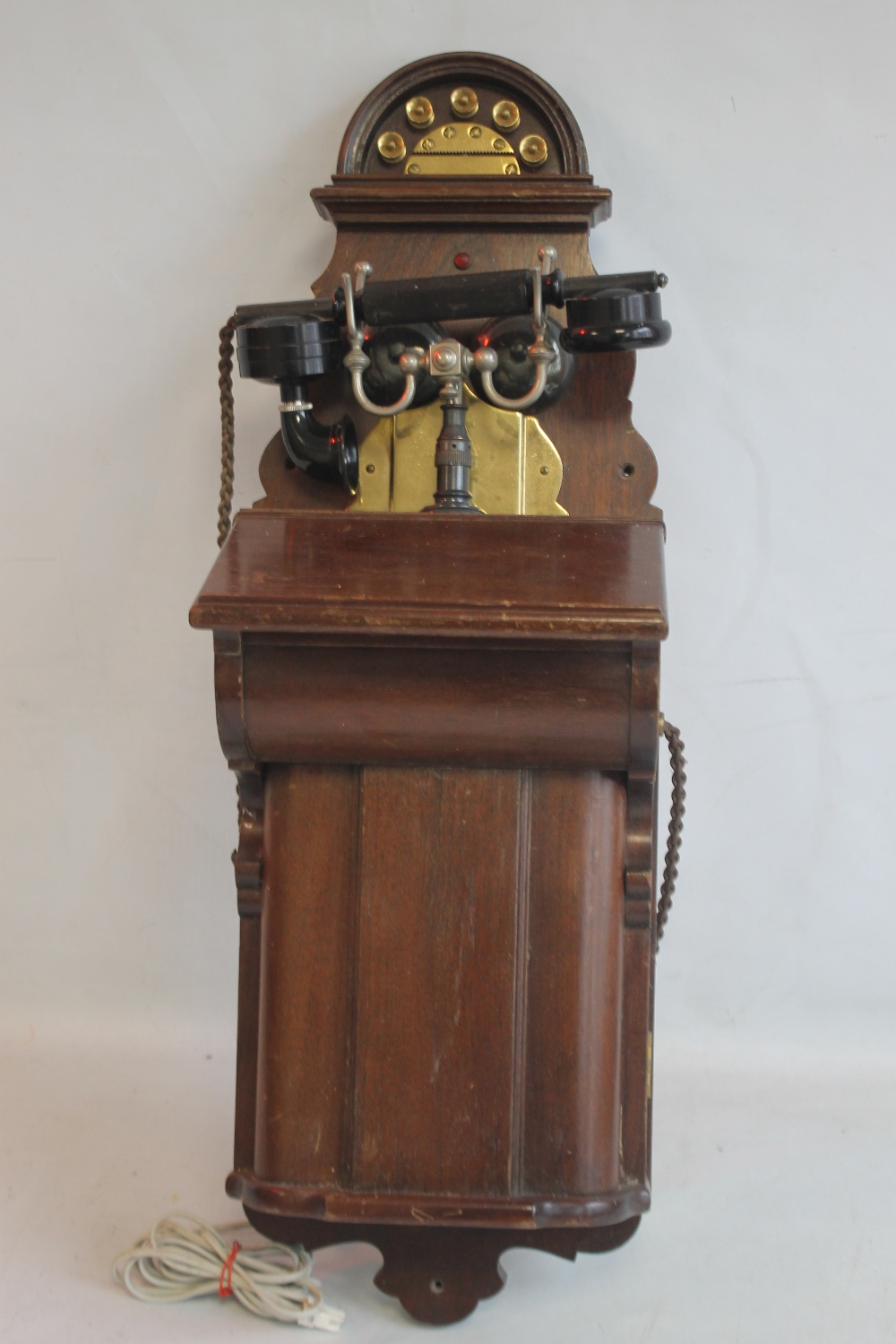 L.M ERICSSON AND CO WALL MOUNTED TELEPHONE from the turn of the century