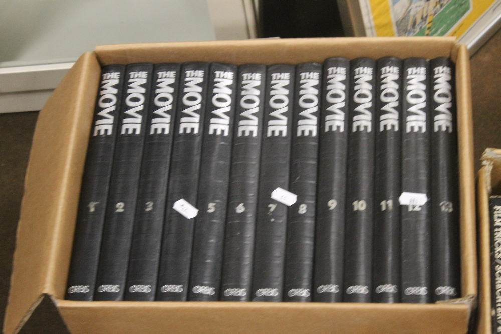 THREE BOXES OF FILM INTEREST BOOKS to include 'Close Encounters of The Third Kind' published by - Image 2 of 4
