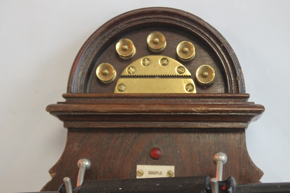 L.M ERICSSON AND CO WALL MOUNTED TELEPHONE from the turn of the century - Image 2 of 4