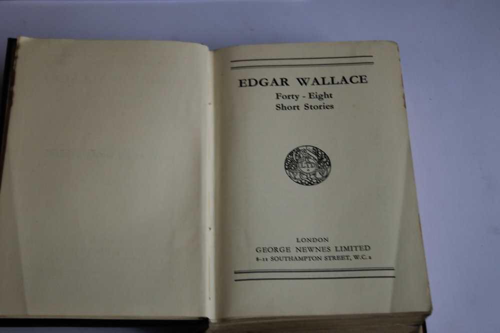 A TRAY OF VINTAGE HARDBACK NOVELS to include Edgar Wallace - 'Forty-eight Short Stories' published - Image 7 of 7