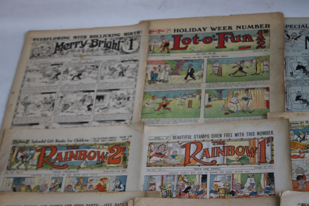 EARLY 20TH CENTURY COMICS to include 'Comic Life' #616 1910, 'Merry and Bright' #135 1913 and #402 - Image 2 of 6