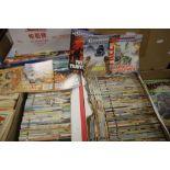 TWO BOXES OF COMMANDO COMICS