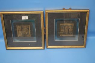 A PAIR OF JAPANESE PICTURES
