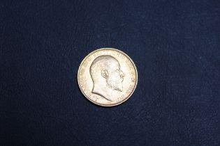 A EDWARD VII 1902 SOVEREIGN
