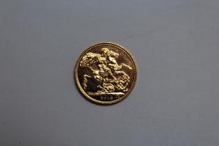 AN ELIZABETH II 2016 GOLD SOVEREIGN