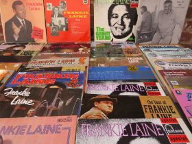 A COLLECTION OF VARIOUS MALE ARTIST LP RECORDS, to include a collection of Frankie Lane albums, Jim