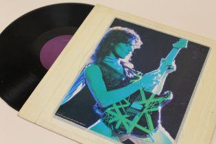 A LIVE VINYL OF VAN HALEN BUDOKAN JAPAN 1979 TOUR, blank purple inner labelCondition